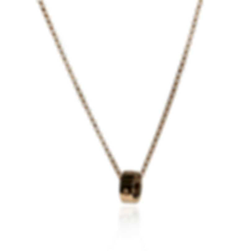 Roberto Coin Womens Symphony Pois Moi 18k Rose Gold Necklace 7771358AXCH0
