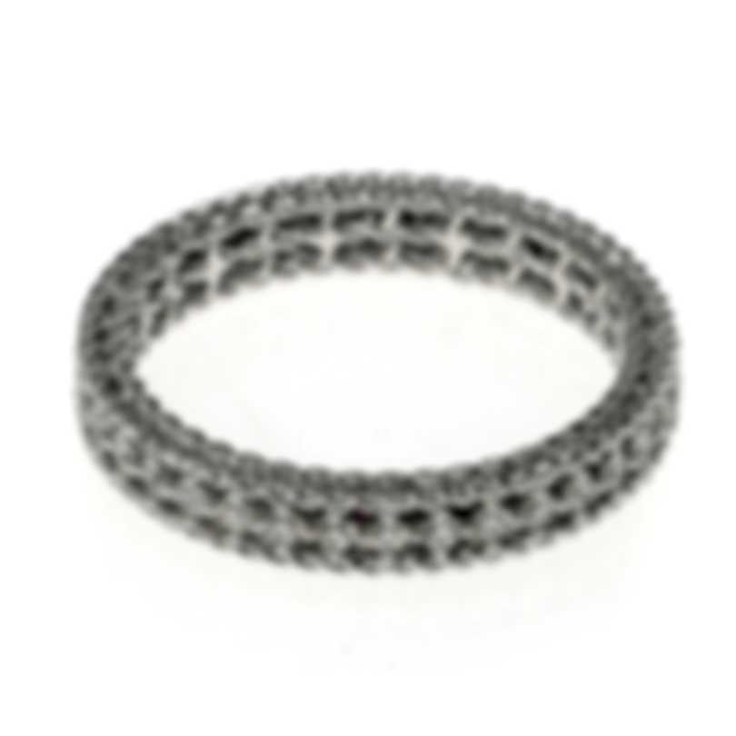 Roberto Coin Symphony 18k White Gold Diamond 0.43ct Ring Sz 7 7771359AW70X