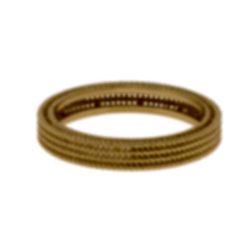 Roberto Coin Symphony Barocco 18k Yellow Gold Ring Sz 6.5 7771361AY650