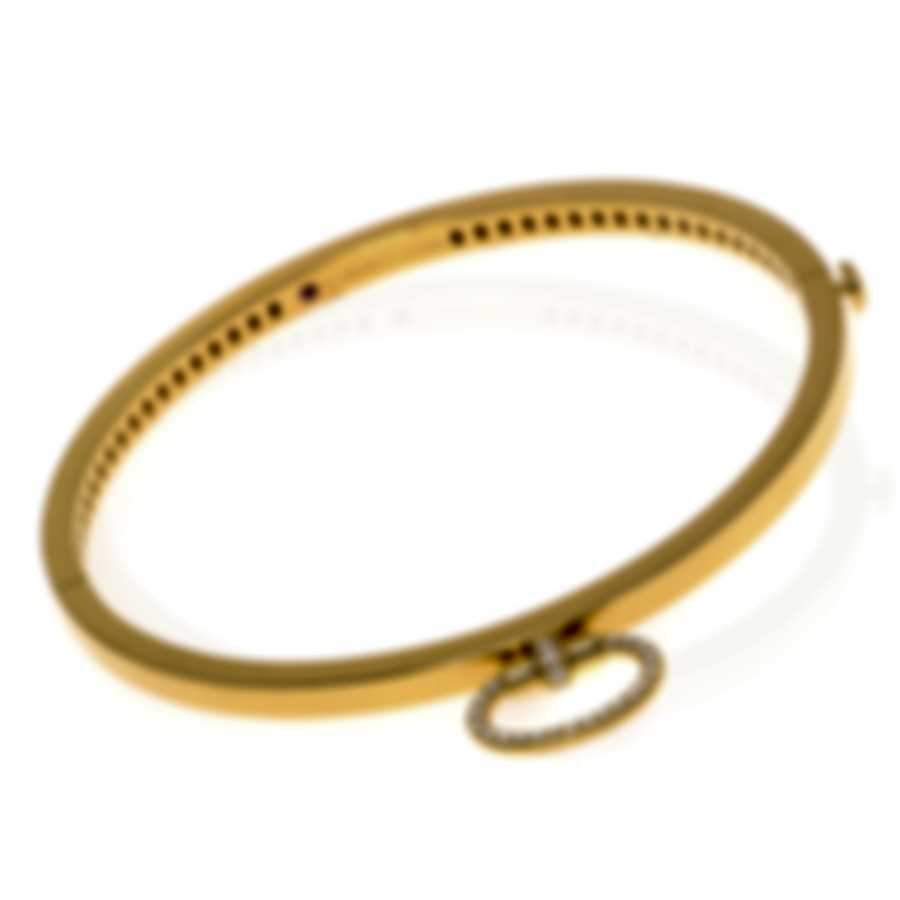 Roberto Coin Classica Parisienne 18k Yellow Gold Diamond Bracelet 7772842AYBAX