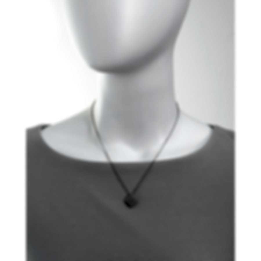 Roberto Coin Womens Barocco 18k White Gold Diamond 0.14ct Necklace 7772024AWCHX