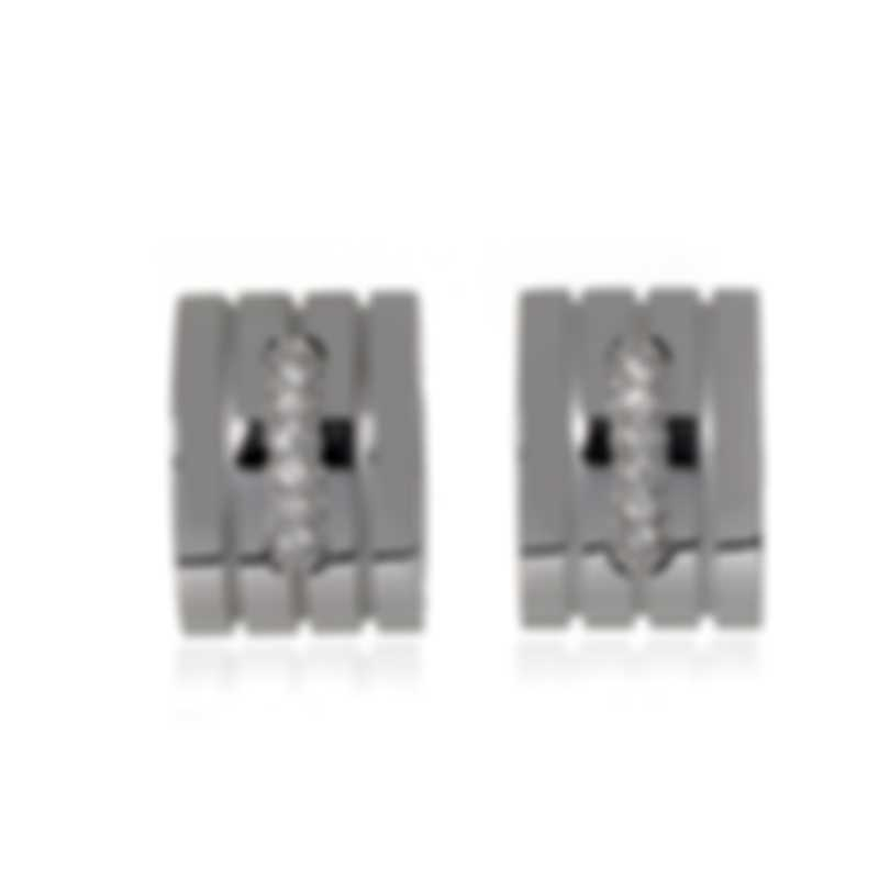 Roberto Coin Portofino 18k White Gold Diamond 0.40ct Earrings 7772059AWERX