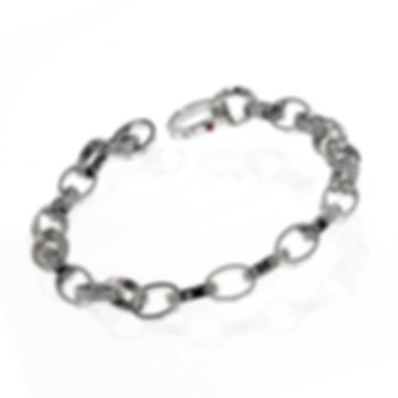 Roberto Coin Pois Moi 18k White Gold Diamond 0.17ct Bracelet 777894AWLBX0