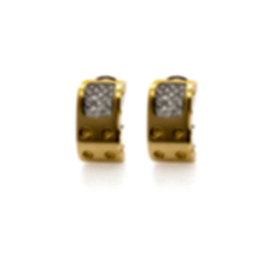 Roberto Coin Pois Moi 18k Yellow Gold Diamond 0.54ct Earrings 777946AJERX0