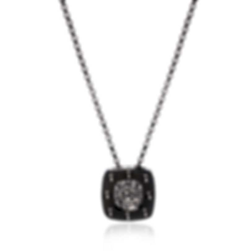 Roberto Coin Pois Moi 18k White Gold Diamond 0.10ct Necklace 777922AW18X0