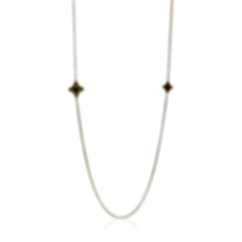 Roberto Coin Womens Princess 18k Rose Gold Diamond 0.08ct Necklace 8882438AH31M