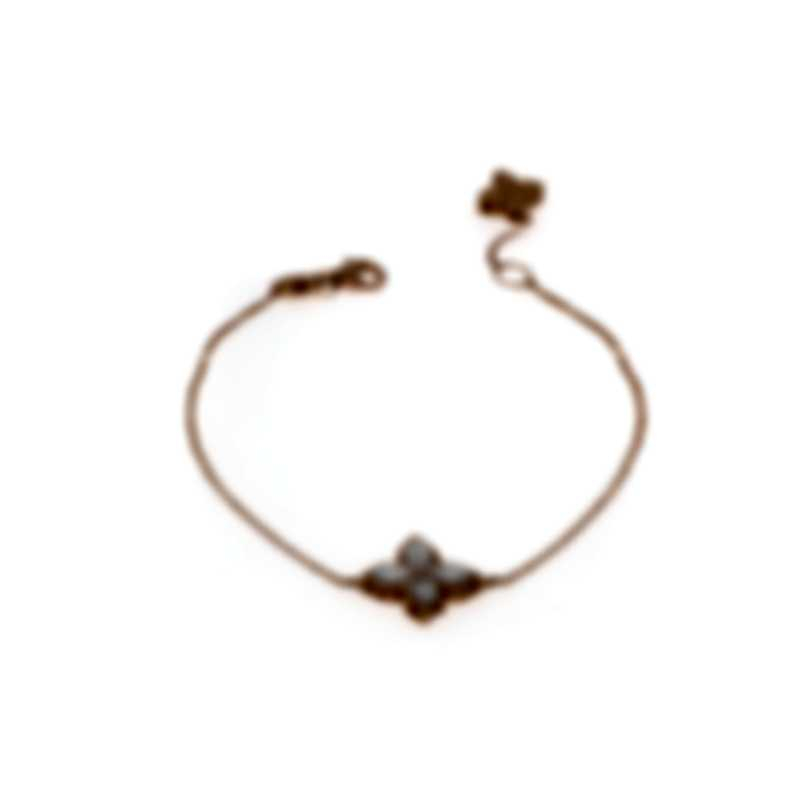 Roberto Coin Princess 18k Rose Gold Diamond 0.03ct Bracelet 8882558AXLBMP