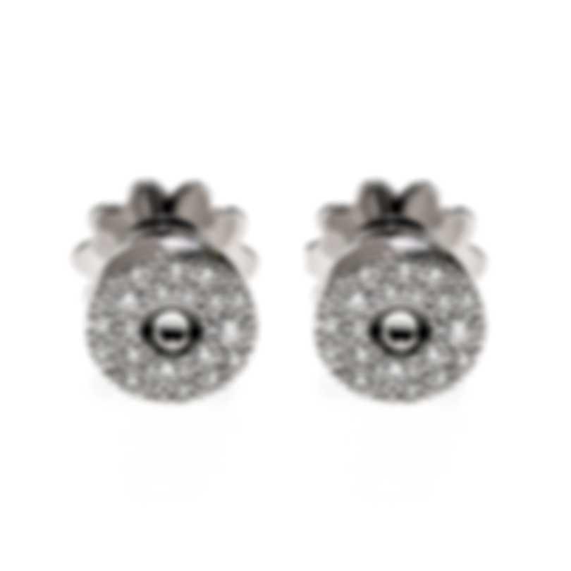Roberto Coin Pois Moi 18k White Gold Diamond 0.34ct Earrings 8882634AWERX