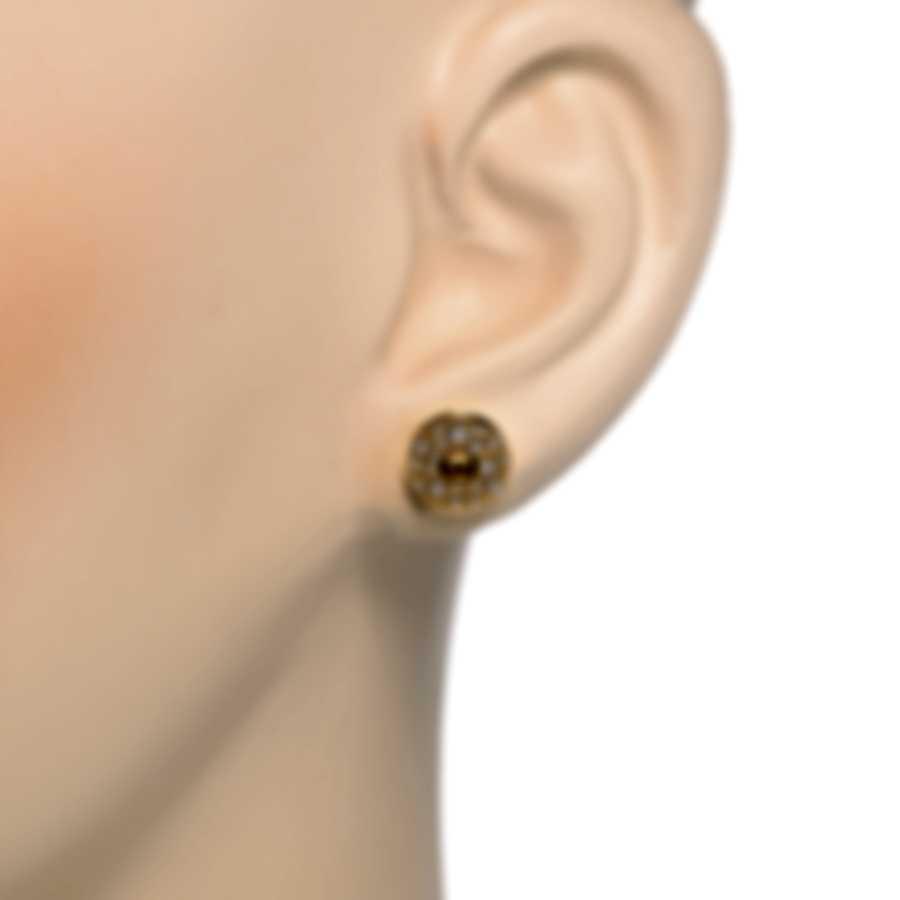 Roberto Coin Pois Moi 18k Yellow Gold Diamond 0.34ct Earrings 8882634AYERX