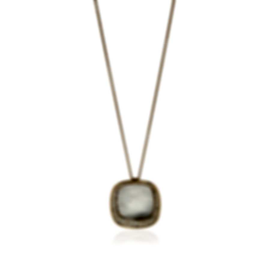 Roberto Coin Carnaby Street 18k Rose Gold Diamond 1.27ct Necklace 8882187AX28X