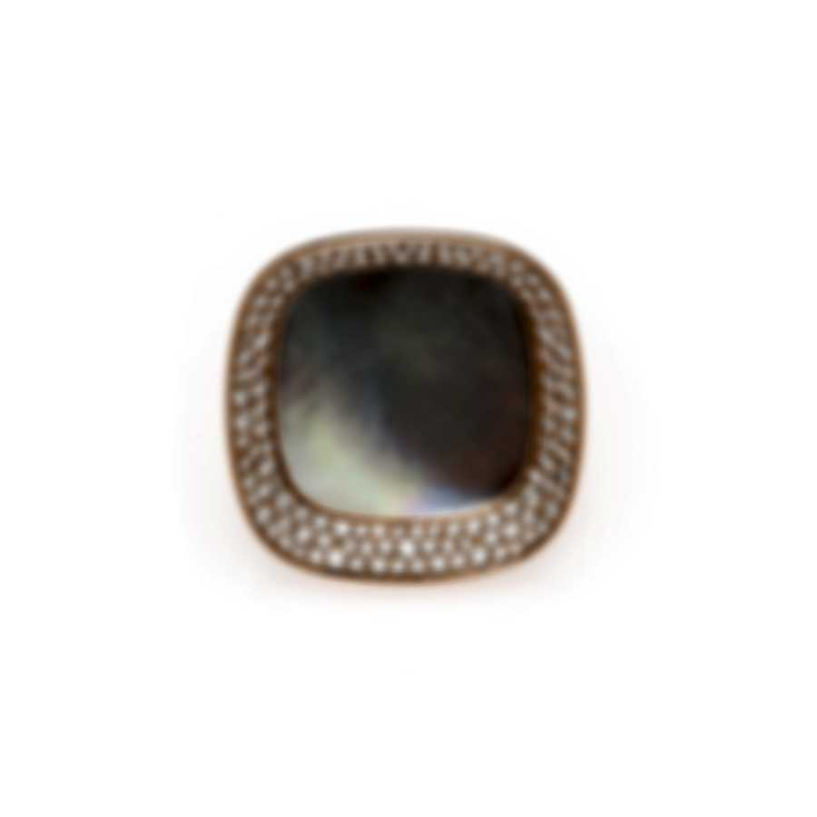 Roberto Coin Carnaby St Diamond 1.27ct Mother Of Pearl Ring Sz 6.5 8882187AX65X