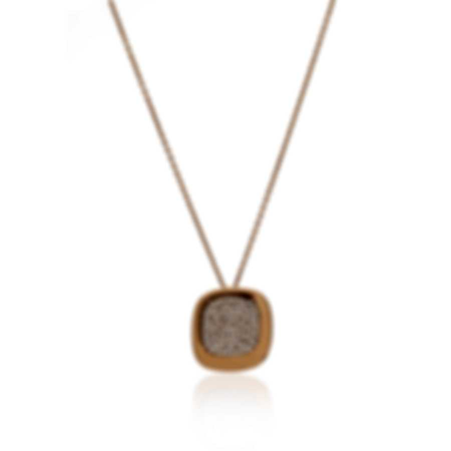 Roberto Coin Carnaby Street 18k Rose Gold Diamond 0.88ct Necklace 8882191AXCHX