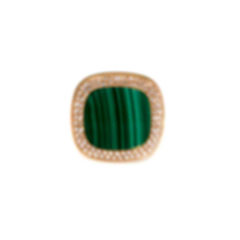 Roberto Coin Carnaby Street Diamond(0.65ct Twd) Malachite RingSz6.5 8882214AX65X