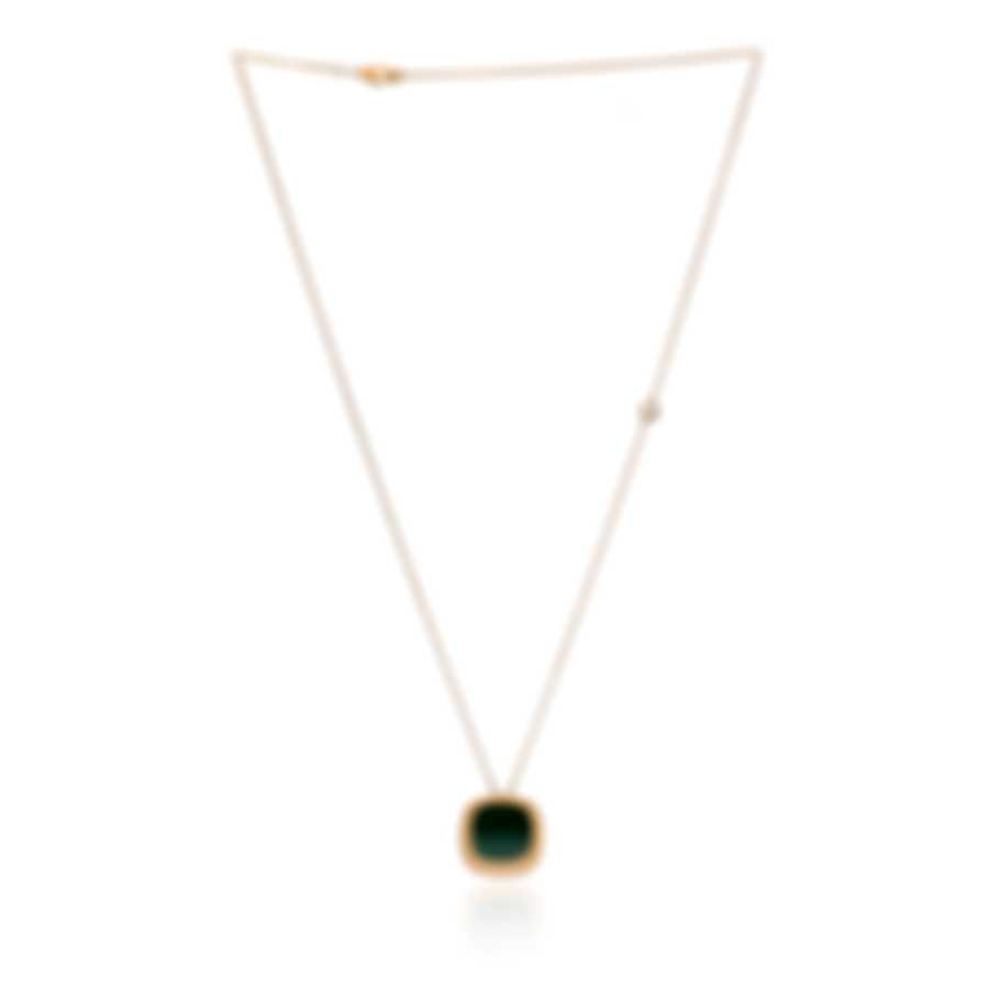 Roberto Coin Carnaby Street 18k Rose Gold And Malachite Necklace 8882215AX28M