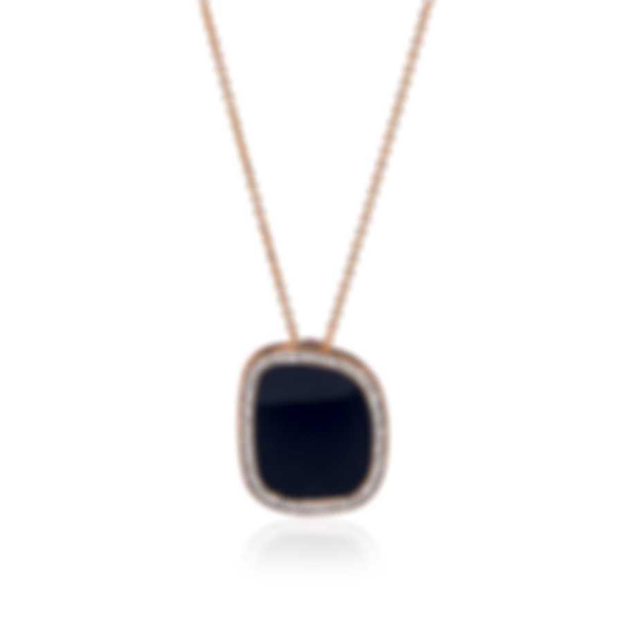 Roberto Coin 18k Rose Gold Diamond 0.38ct Necklace 888962AX18JX