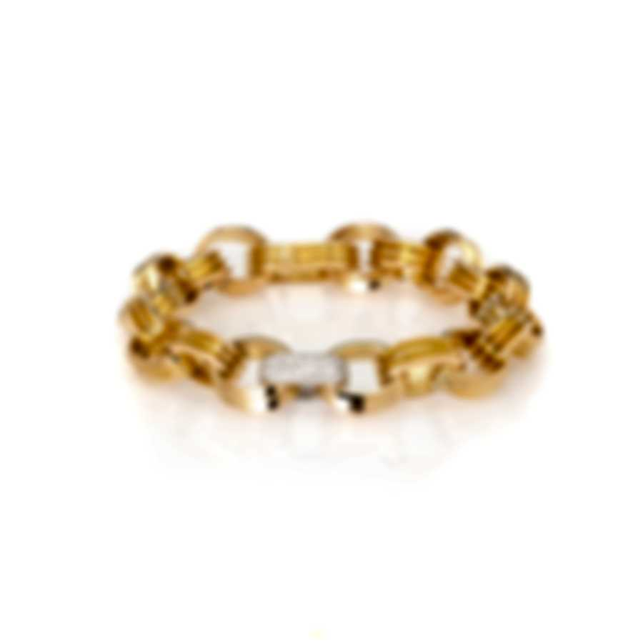 Roberto Coin 18k Yellow Gold Diamond 0.65ct Bracelet 9151159AJLBX