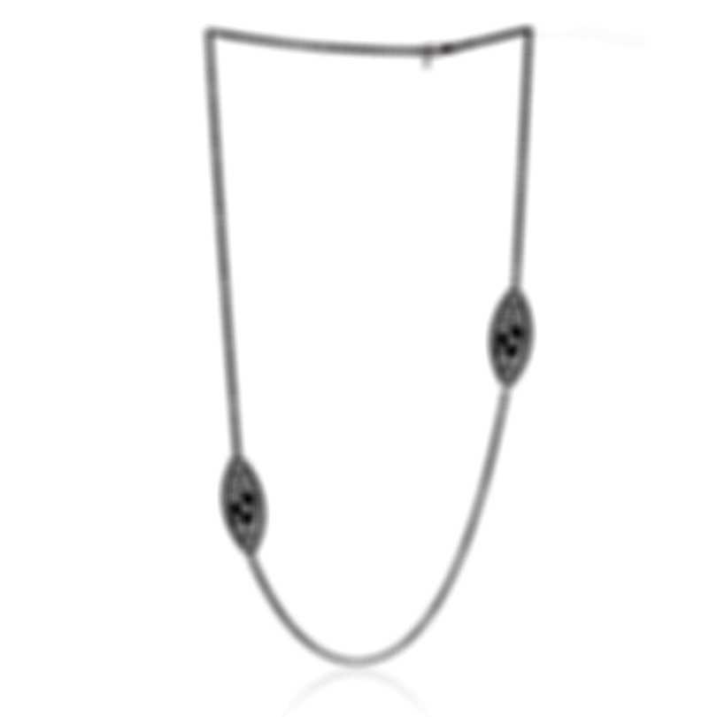 Roberto Coin Bollicine 18k White Gold Diamond Necklace 915361AW37X0