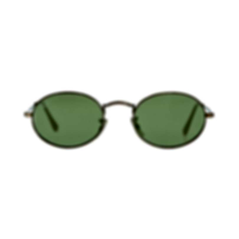 Ray-Ban Gold And Green Unisex Metal Sunglasses RB3547N-91314C