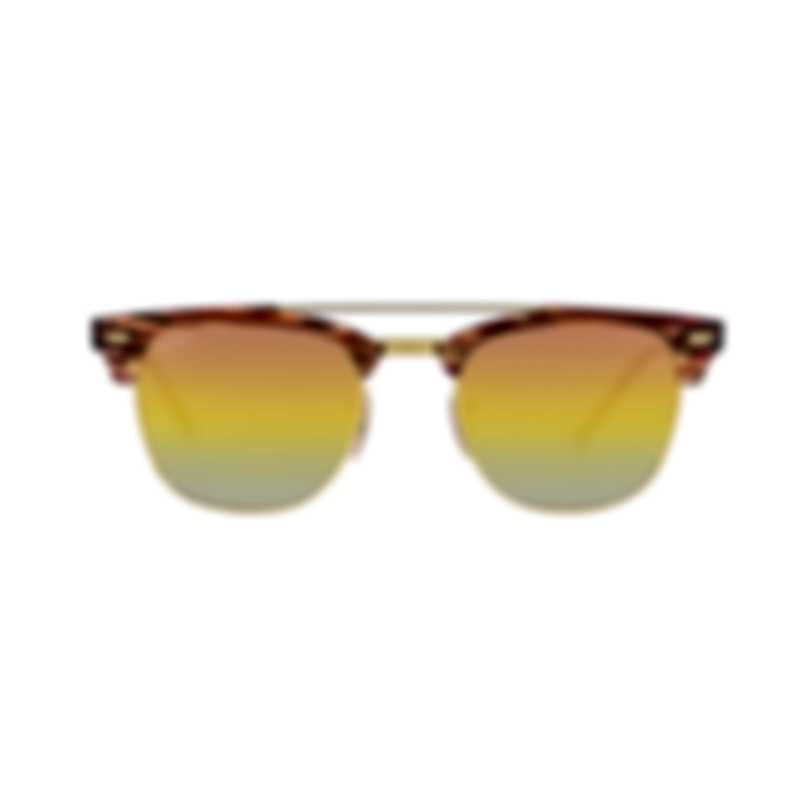 Ray-Ban Brown And Gold Unisex Acetate Sunglasses RB3816-1237I1