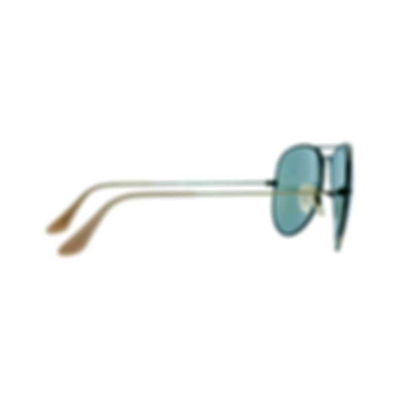 Ray-Ban Bronze Copper Blue Unisex Metal Sunglasses RB3025-16768