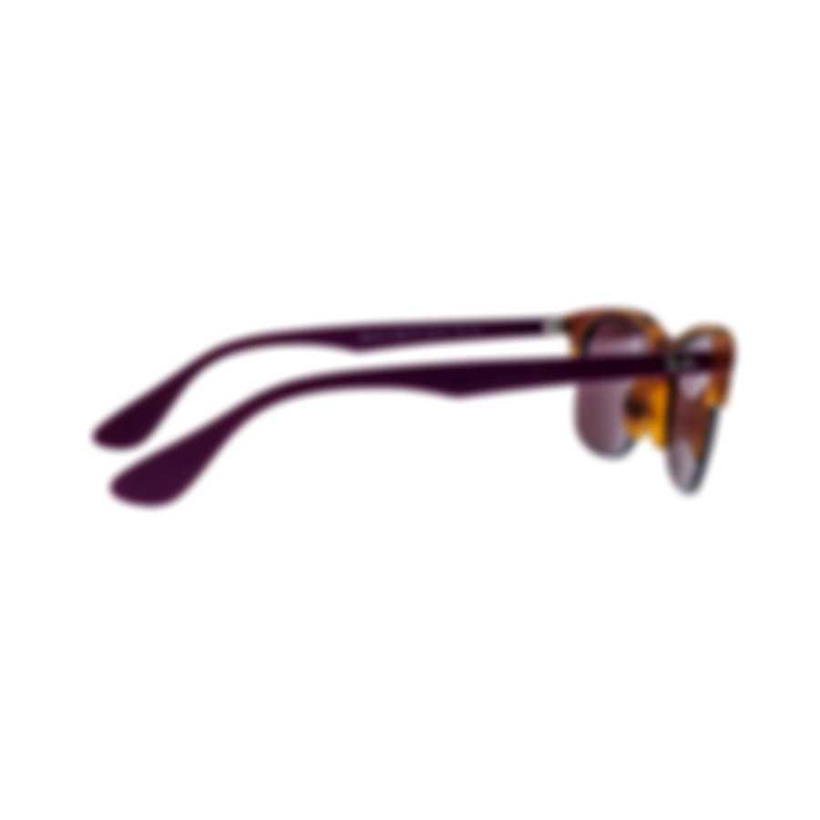 Ray-Ban Havana Purple Unisex Acetate Sunglasses RB4419-642075