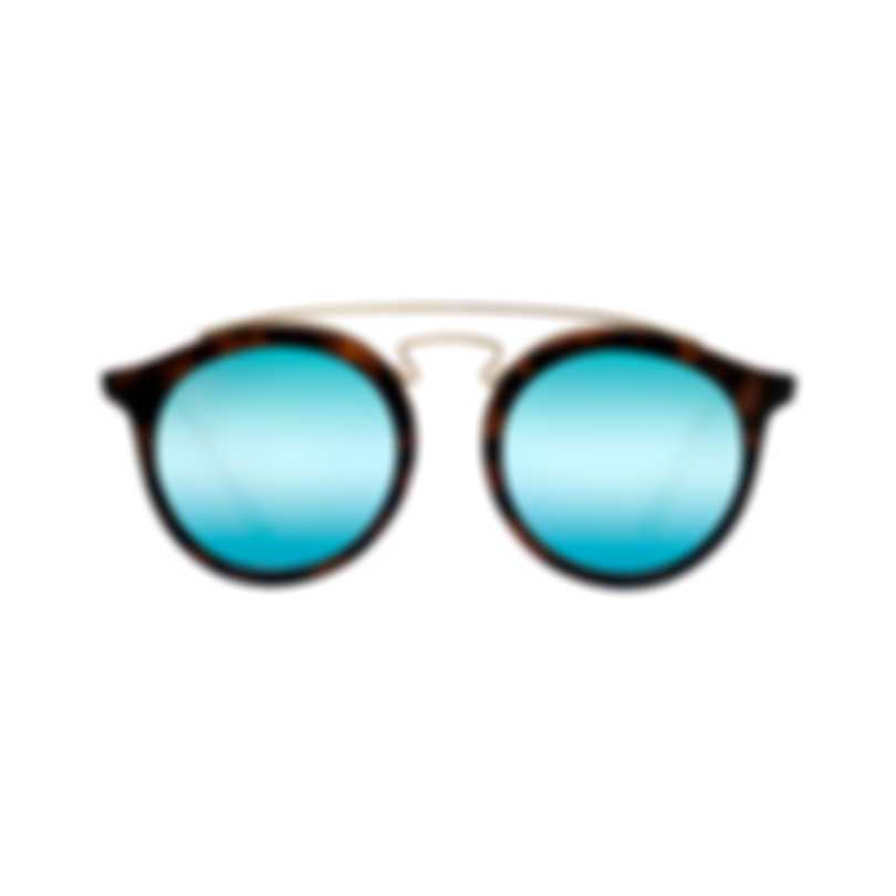 Ray-Ban Blue And Gold Unisex Acetate Sunglasses RB4256-609255