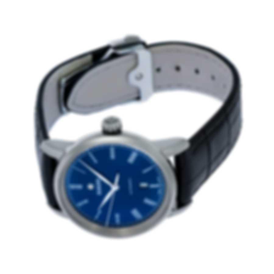 Rado Diamaster Ceramic Blue Dial Automatic Ladies Watch R14026205