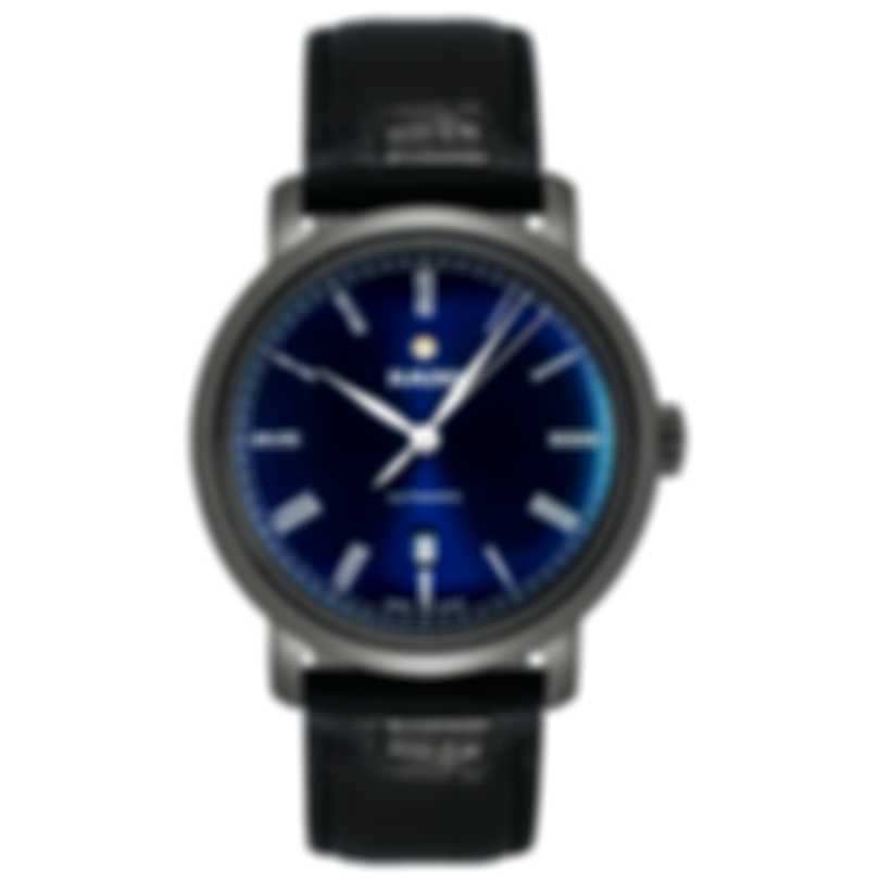 Rado Diamaster Ceramic Blue Dial Automatic Men's Watch R14806206