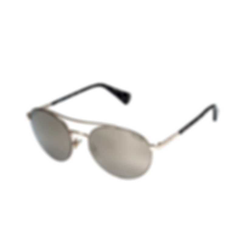 Ralph Lauren Brown Mirror Metal Sunglasses RA4120-32205A