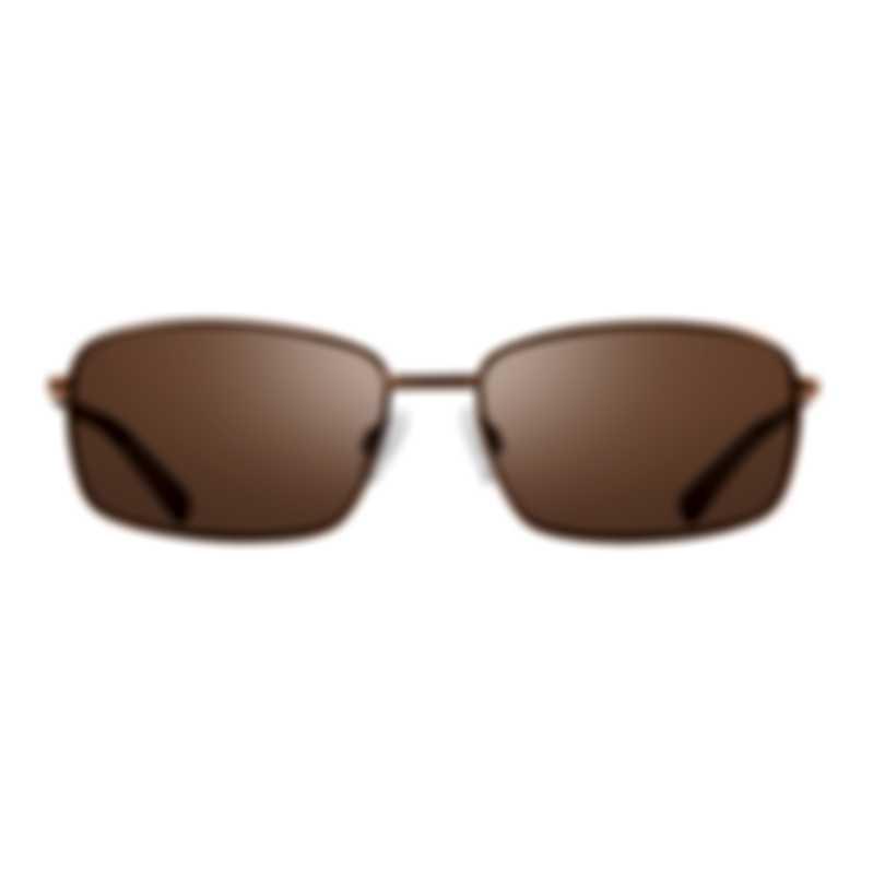 Revo Lifestyle Tate Brown & Terra Rectangle Sunglasses RE107902BR
