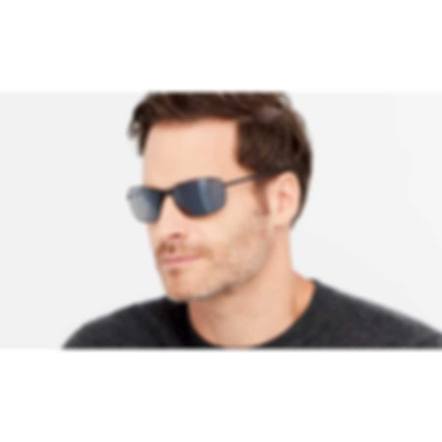 Revo Lifestyle Decoy Black & Graphite Rectangle - Large Sunglasses RE108401GY