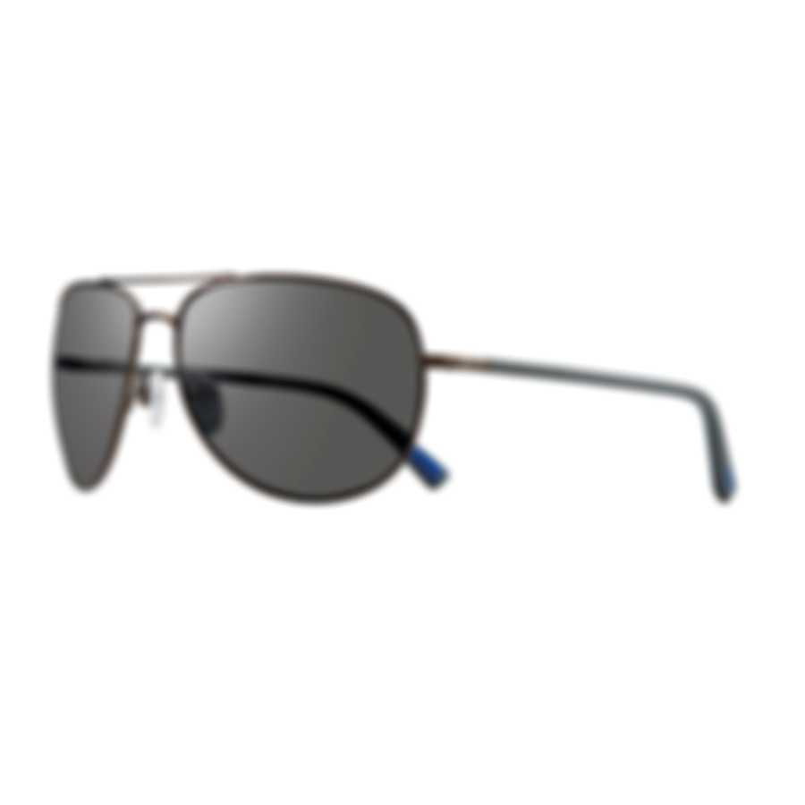 Revo Lifestyle Tarquin Gunmetal & Graphite Aviator-style Sunglasses RE108300GY