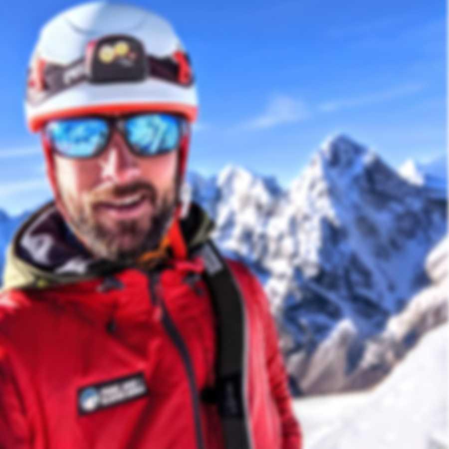 Revo Performance Caper Blue & Blue Water Rectangle - Large Sunglasses RE109205BL