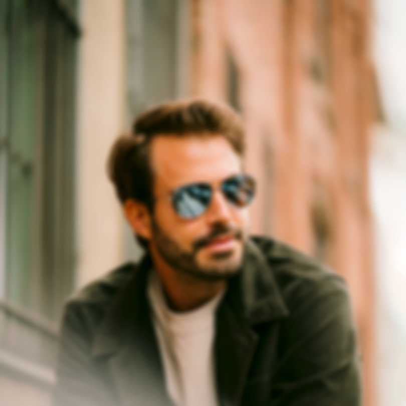 Revo Lifestyle Conrad Gunmetal & Blue Water Aviator-style Sunglasses RE110600BL