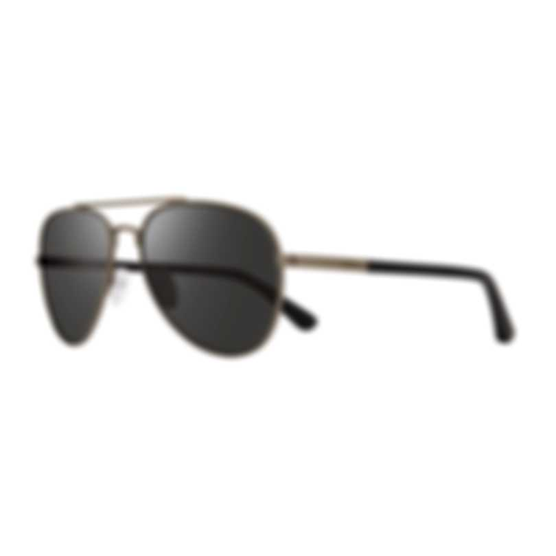 Revo Lifestyle Raconteur II Matte Gunmetal Aviator-style Sunglasses RE114600GY