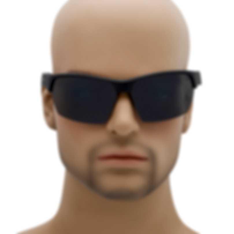 Revo Performance Jett Matte Black Graphite Rectangle Large Sunglasses RE116701GY