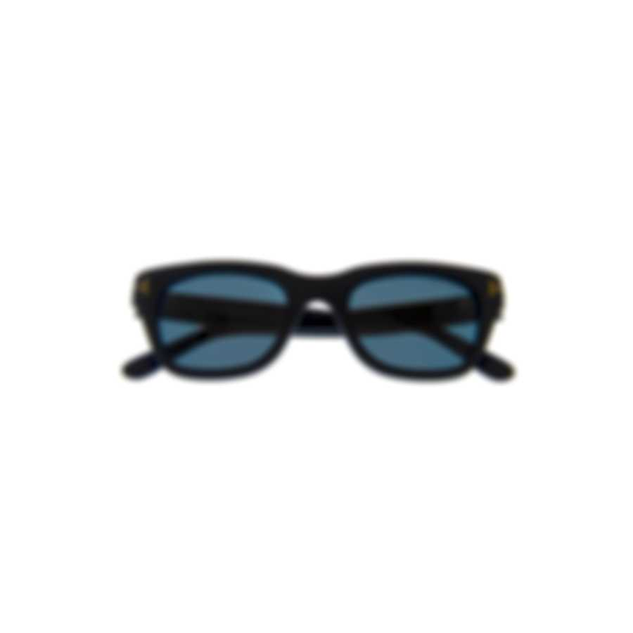 Tom Ford Matte Black & Blue Sunglasses FT0237-5005V