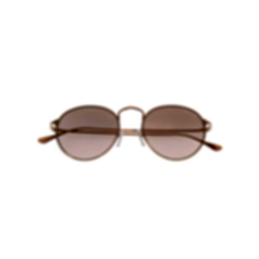 Tom Ford Gold & Violet Round Sunglasses FT0649-5233Z