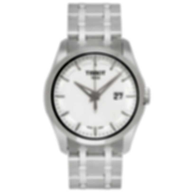 Tissot Couturier Stainless Steel Quartz Men's Watch  T0354101103100