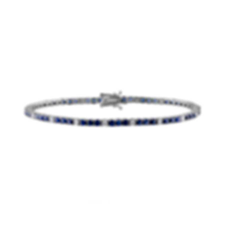 Tresorra 18k White Gold Diamond 0.7ct And Sapphire Bracelet 168-WG-BS-DIA