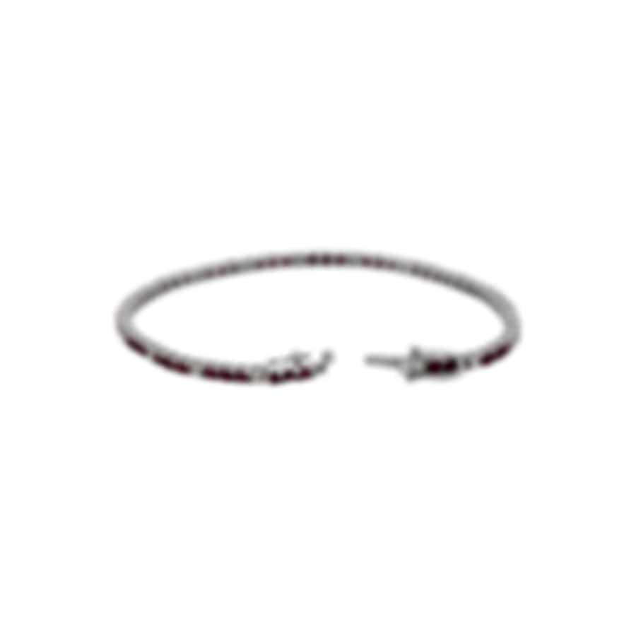 Tresorra 18k White Gold Diamond 0.70ct And Ruby Bracelet 189-WG-RBY-DIA