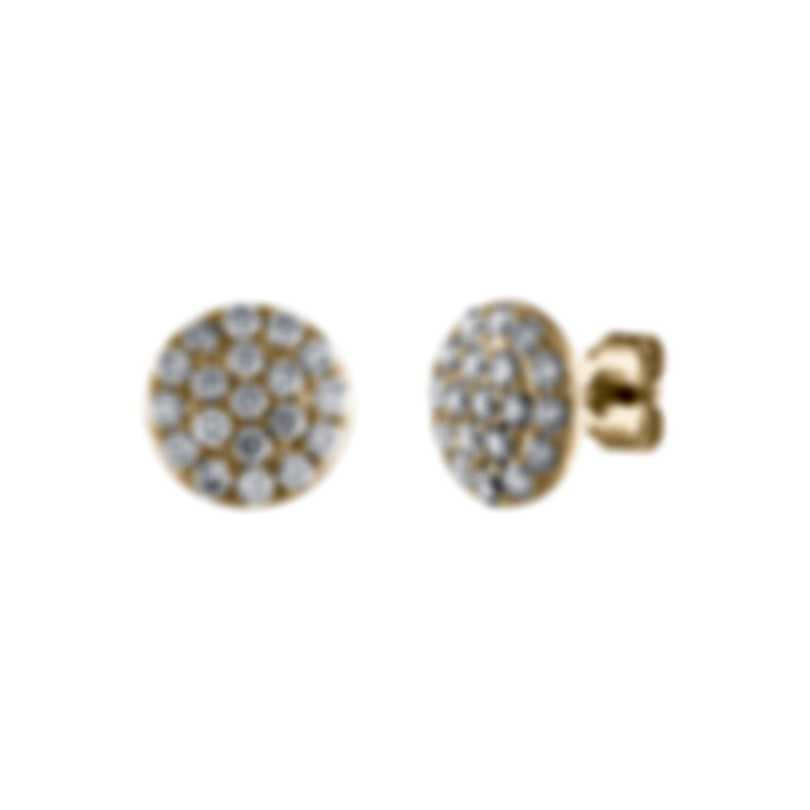 Tresorra 18k Yellow Gold Diamond 1.00ct Earrings 197-YG-DIA