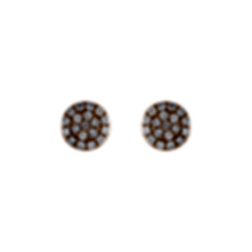 Tresorra 18k Rose Gold Diamond 0.20ct Earrings 195-RG-DIA