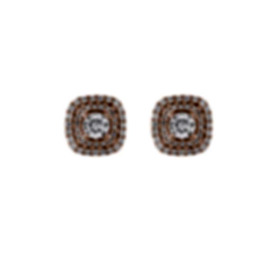 Tresorra 18k Rose Gold Diamond 1.10ct Earrings 123-RG-DIA