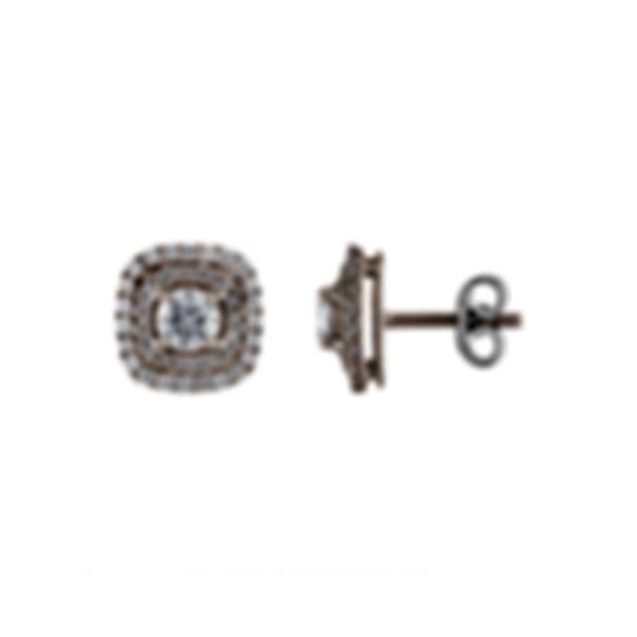 Tresorra 18k White Gold Diamond 1.10ct Earrings 121-WG-DIA