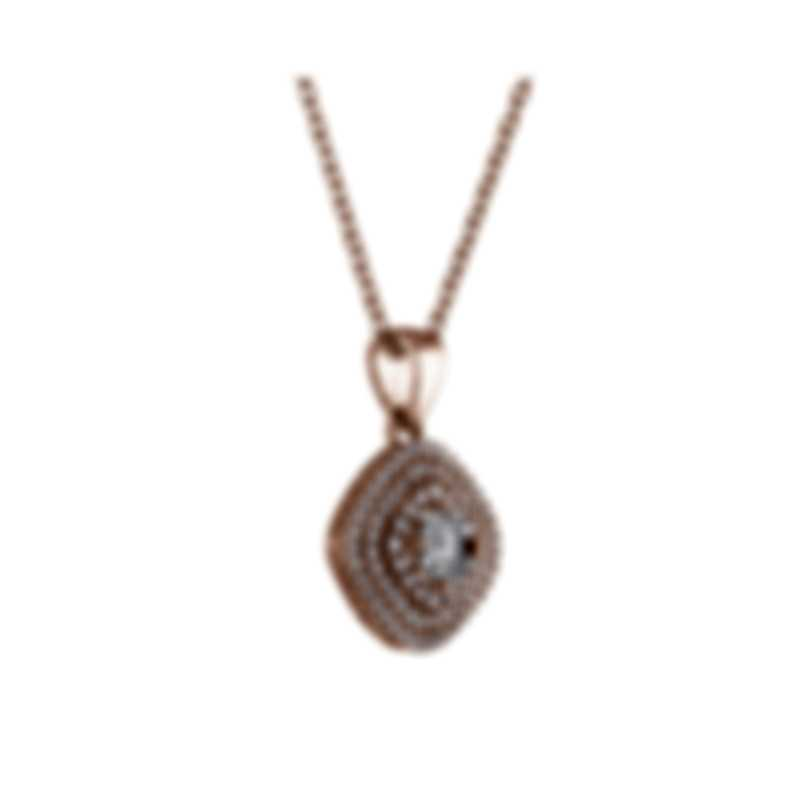 Tresorra 18k Rose Gold Diamond 1.15ct Necklace 129-RG-DIA
