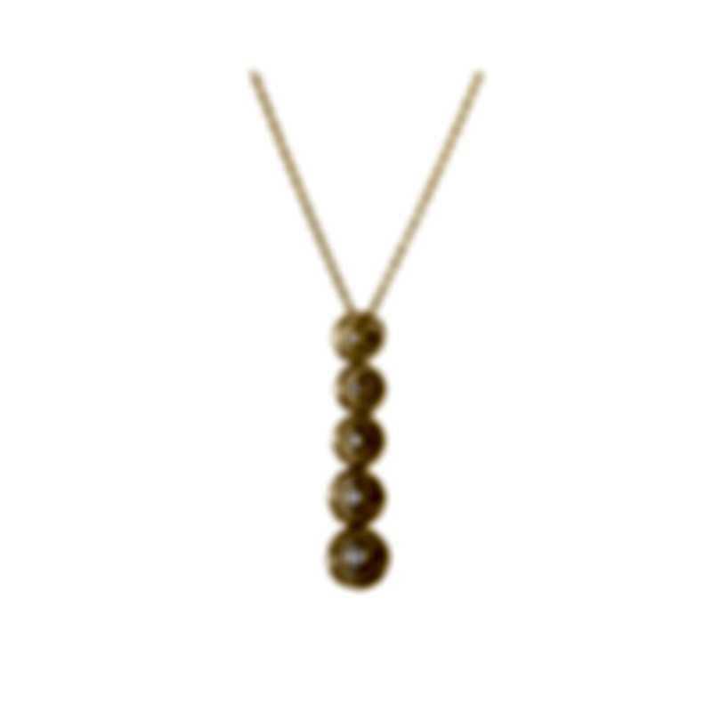 Tresorra 18k Yellow Gold Diamond 0.70ct Necklace 218-YG-DIA