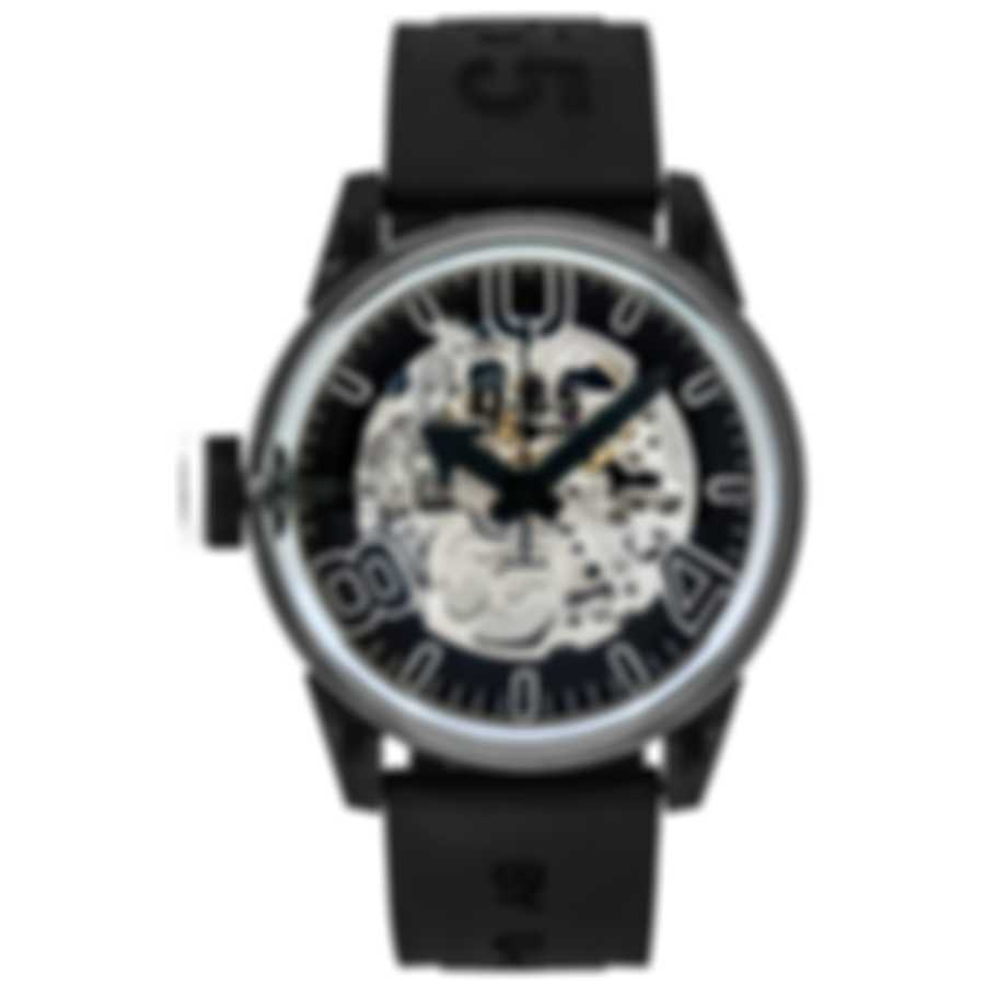U-65 By U-Boat Skeleton Automatic Men's Watch 7930