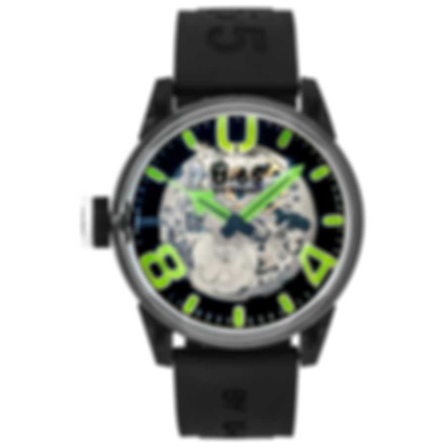 U-65 By U-Boat Skeleton Automatic Men's Watch 7931