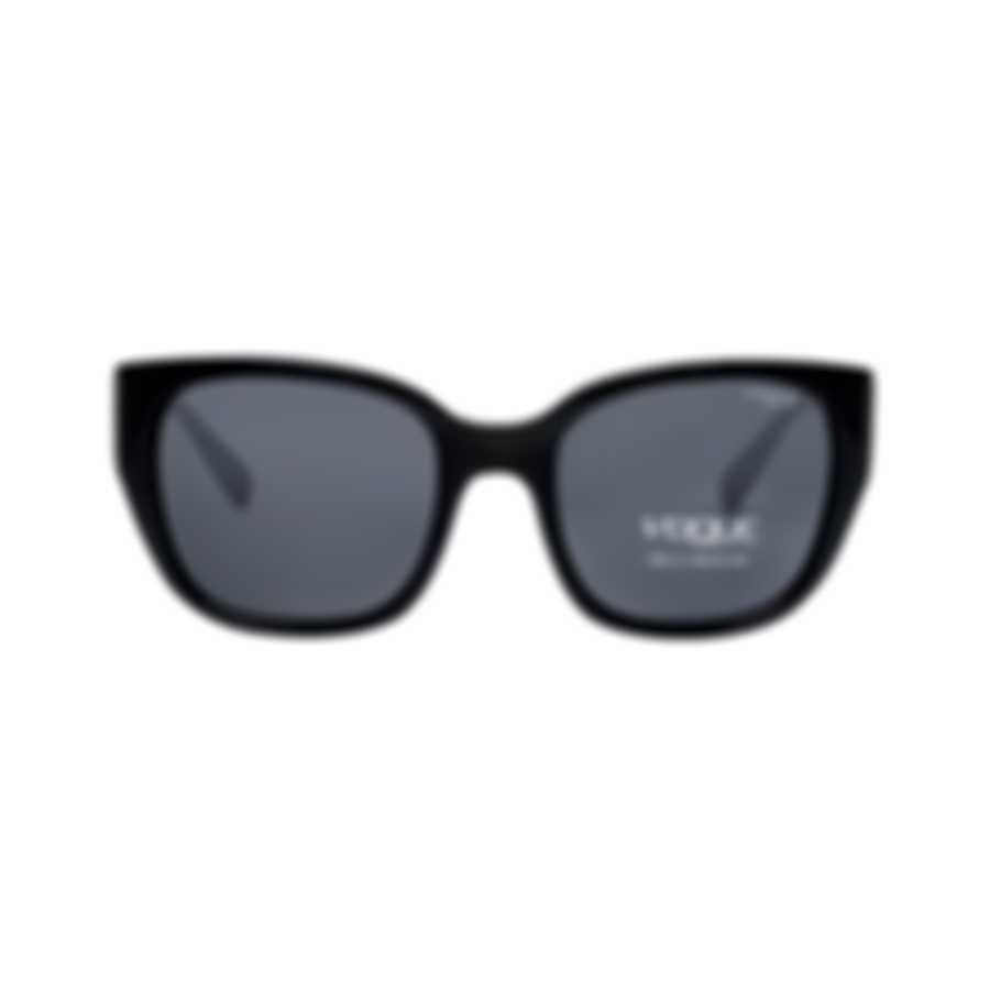 Vogue Women's Black Gray Gradient Sunglasses VO5061SB-W4487